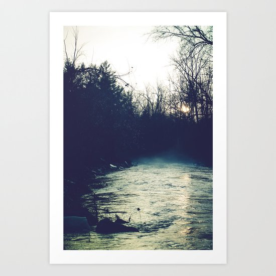 Through The Dark Art Print