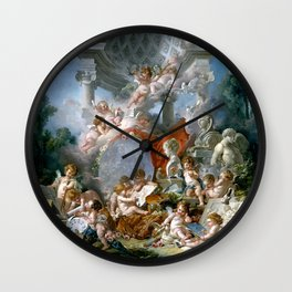 Geniuses of the Arts - Francois Boucher Wall Clock