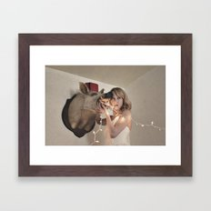 Boar-ing Party Framed Art Print