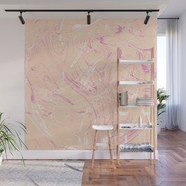 Adrift - Abstract Suminagashi Marble Series - 07 Wall Mural