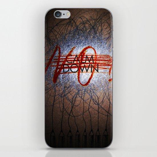 Calm DowNO! iPhone & iPod Skin