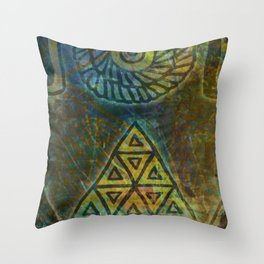 Windows in the Forest - Detail Throw Pillow