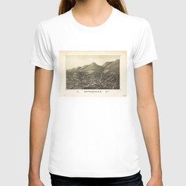 Aerial View of Matteawan, New York (1886) T-shirt