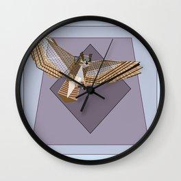 Primed Talons Wall Clock