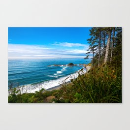 Pacific View - Coastal Scenery in Washington State Canvas Print