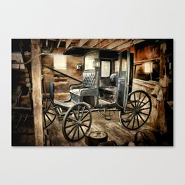 Vintage Horse Drawn Carriage Canvas Print