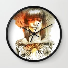 Evil's Smoke Wall Clock