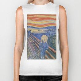 "Edvard Munch ""The Scream"", 1895 Biker Tank"