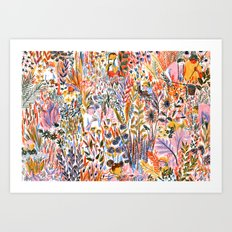 Bug-Catching Art Print