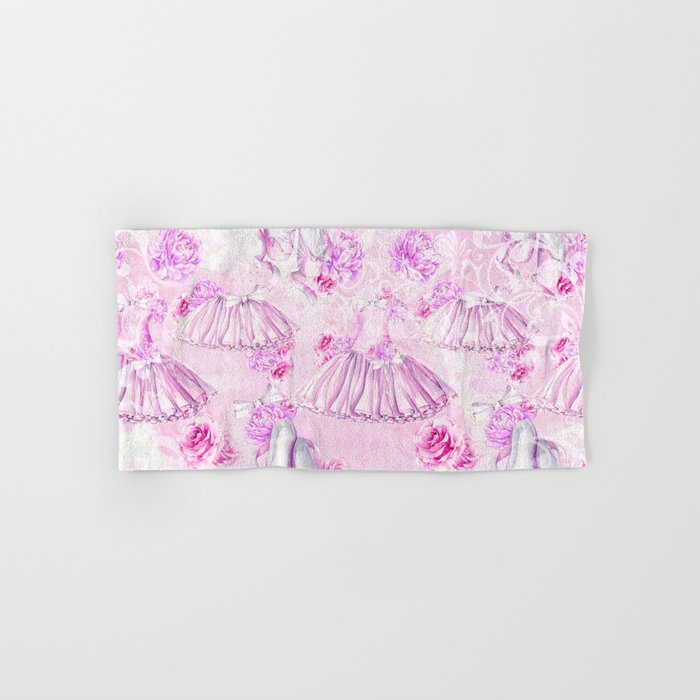 Ballerina #6 Hand & Bath Towel