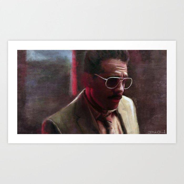 Mr. Robot - F Society and Dark Army Agent Art Print