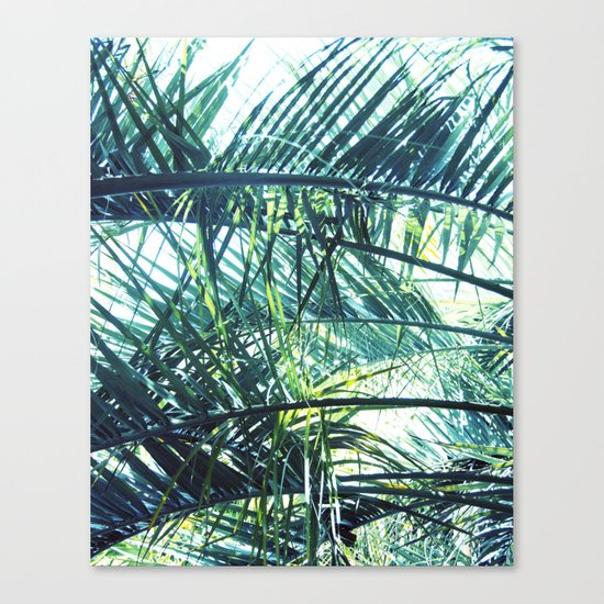 Bright Palm 3 Canvas Print