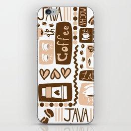 Java Java Java! iPhone Skin