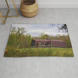 Red Roof Barn Rug
