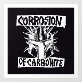 Sithfits - Corrosion of Carbonite Art Print