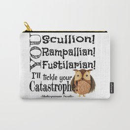 Tickle Your Catastrophe Carry-All Pouch