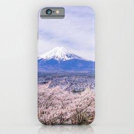 Mount Fuji, Japan iPhone Case