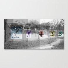 Skater Series #3 Canvas Print