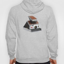 Retro Polaroid SX-70 Camera Polygon Art Hoody