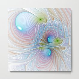 fractal design -38- Metal Print