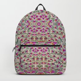 All the Little Flowers Water Color Art Backpack