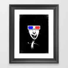 3Dgasmic Framed Art Print