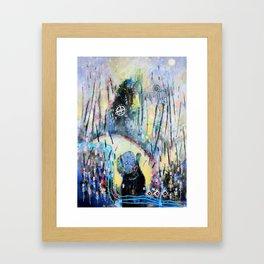 Opening The Ways Framed Art Print