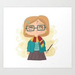 Potter Fan Art Print