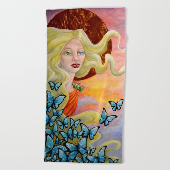 Aurora Beach Towel