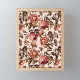 Vintage Garden VI Framed Mini Art Print