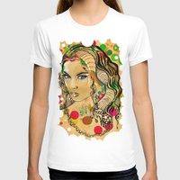 dots T-shirts featuring Dots by Irmak Akcadogan