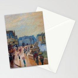 Claude Monet Pont Neuf Stationery Cards