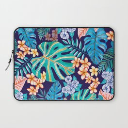 Deep Blue Tropicana Laptop Sleeve