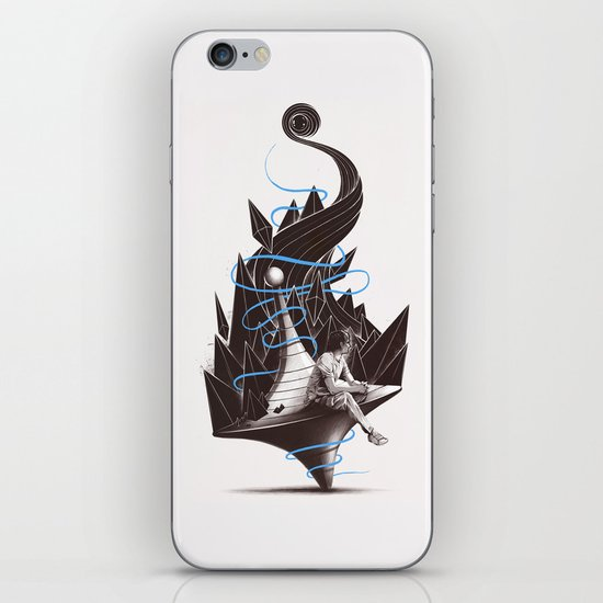 Trying To Find A Balance iPhone & iPod Skin