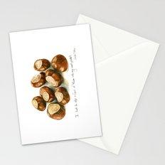 Chestnuts - into my coat pocket Stationery Cards