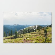 BITTERROOT MOUNTAINS  Canvas Print