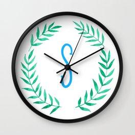 Hello S!  Wall Clock