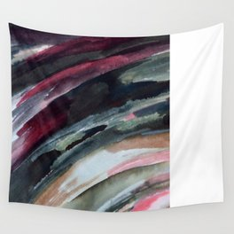 Abstract Ink Smear  Wall Tapestry