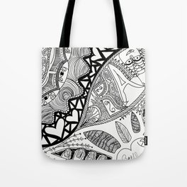 I love to Draw Tote Bag