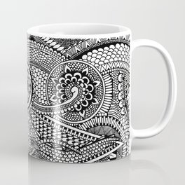 Abstract Fullpage Doodle Coffee Mug
