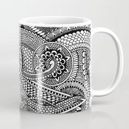 Abstract Fullpage Doodle Coffee Mug