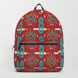 Cigarettes and Pentagrams Backpack