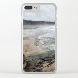 Lookout Point near Otter Rock Clear iPhone Case