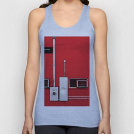 De Stijl Composition In Red White And Black Unisex Tank Top