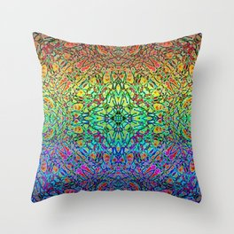 Love Comes in Many Colors Throw Pillow