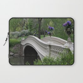 Bow Bridge Central Park New York Laptop Sleeve