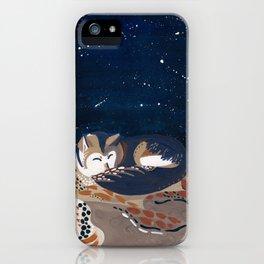 Sleeping Desert Wolf iPhone Case