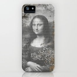 Secrets of the Mona Lisa iPhone Case