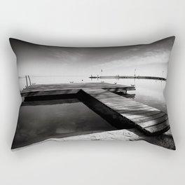 Balaton - Pier Rectangular Pillow