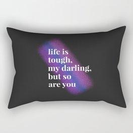 Tough Darling Rectangular Pillow